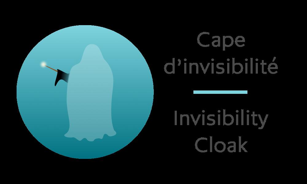 Cape d'invisibilité