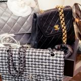 Chanel bags, shoes and jewellery