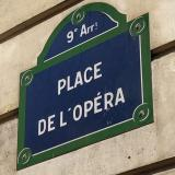 Street sign in the 9th arrondissement