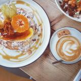Delicious brunch dishes at Dignita Hoftuin