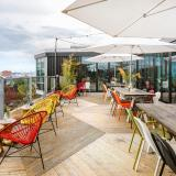 The rooftop garden at Zoku