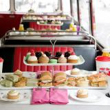 B BAKERY'S TEA BUS