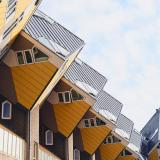 The distinctive Cube Houses