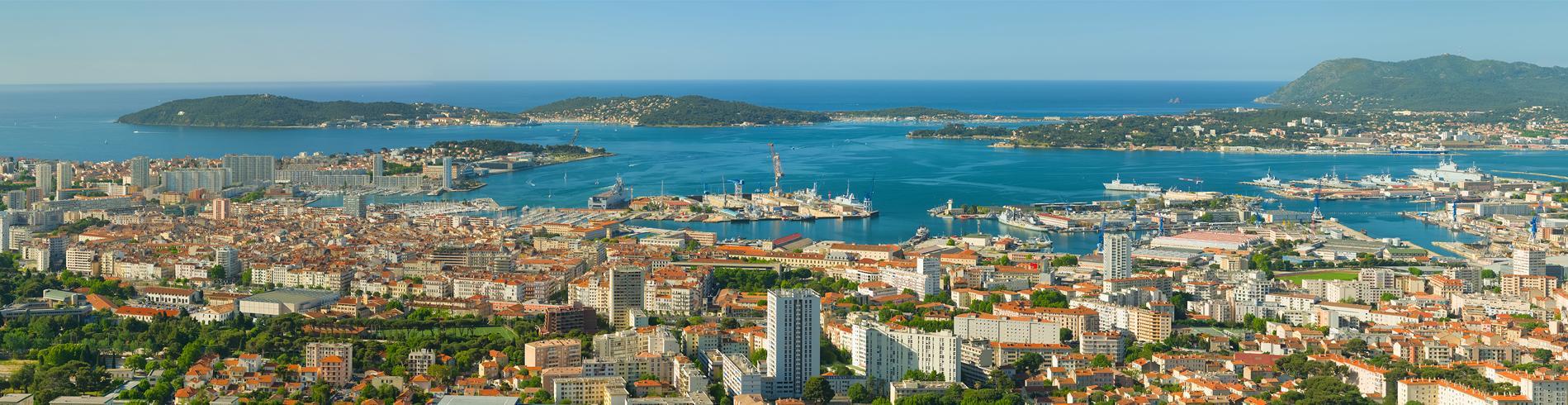 Panorama of Toulon