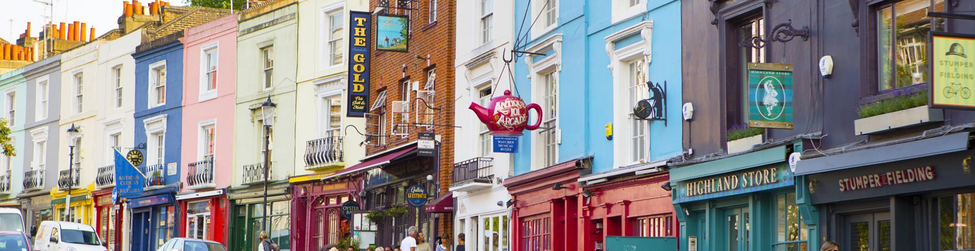 London Portobello road Hero Image