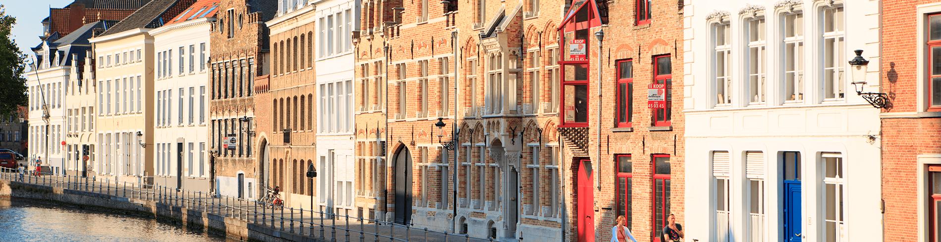 Bruges Riverside houses