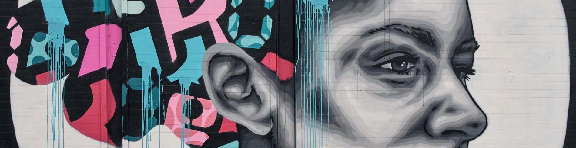 Street art at Hackney road