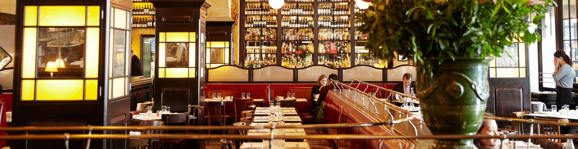 The interior of Balthazar in London