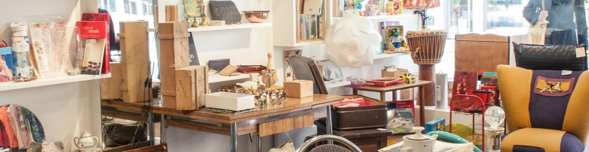 Shop full of vintage bits and pieces