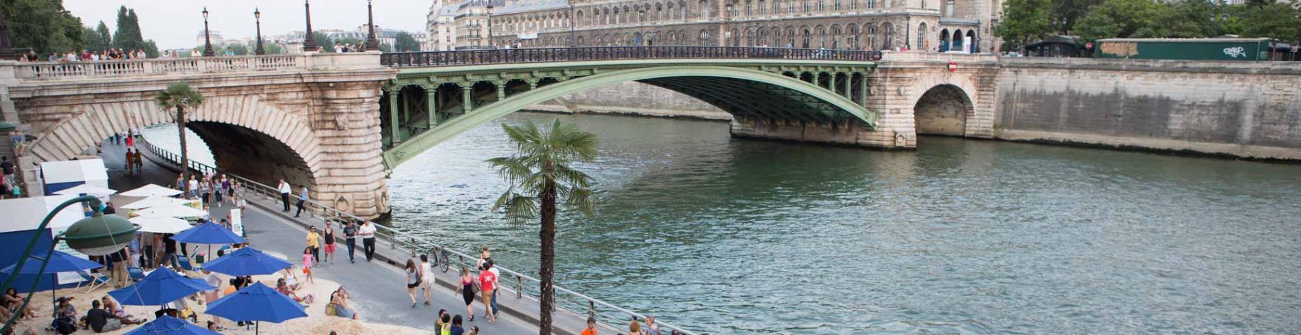 Spend Summer in Paris