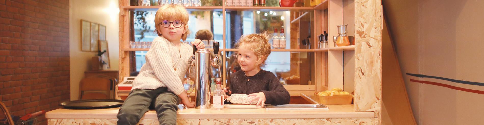 Tea for tots at Super Café