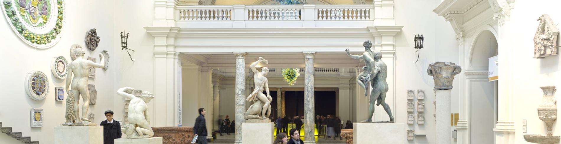 Interior of the V&A