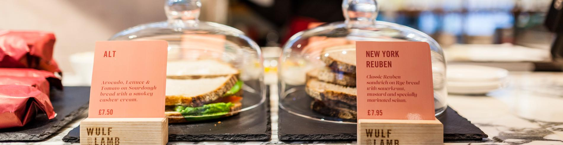 Vegan food in London
