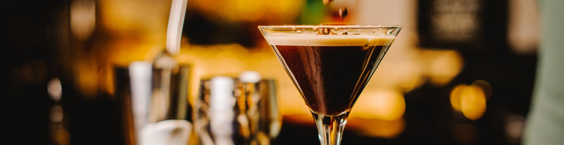 Fuel up with an espresso martini