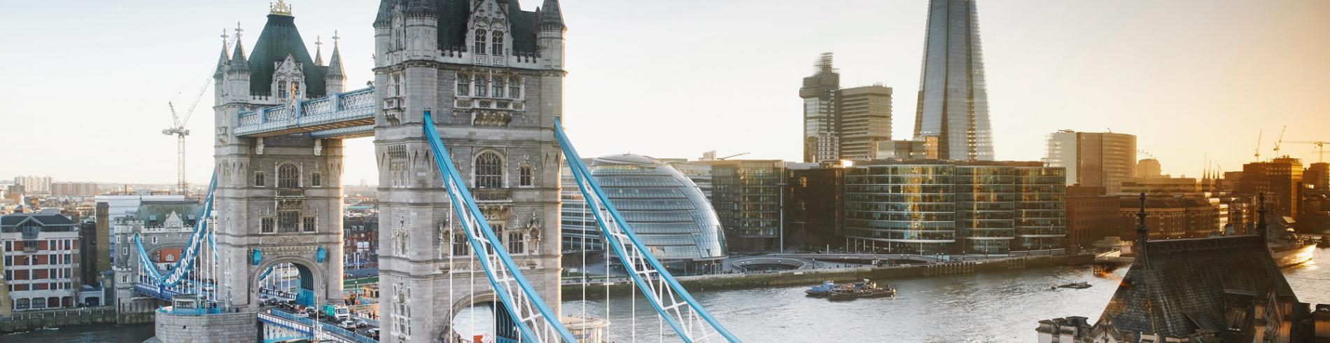 Tower Bridge, City Hall and the Shard