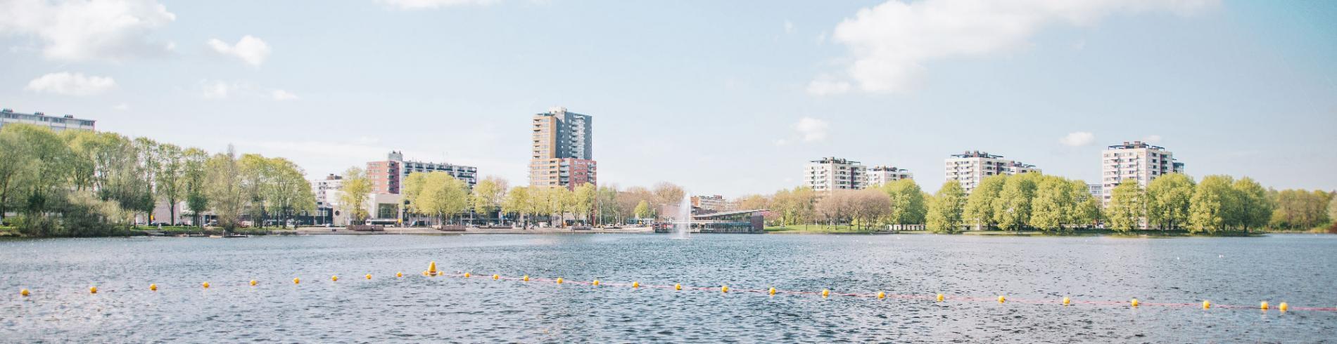 The lake at Sloterplas