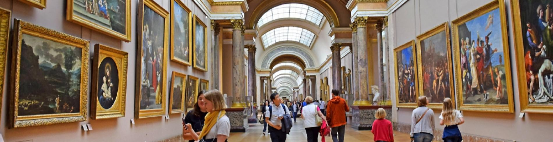 Louvre Museum, a top thing to see in a trip to Paris