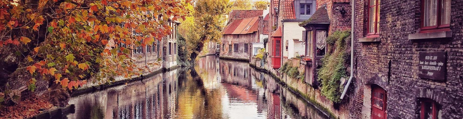 Bruges in the autumn