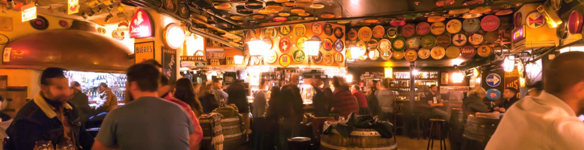 Bar in Brussels
