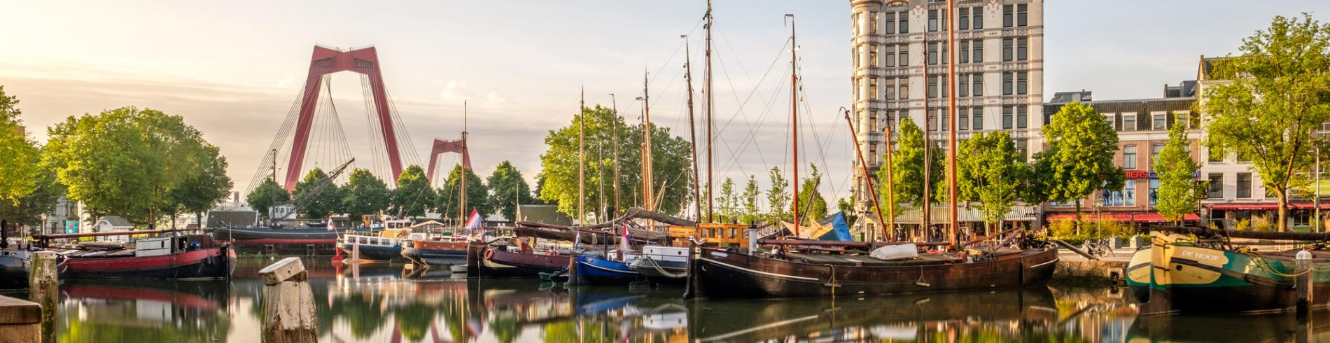 Oude Haven area of Rotterdam