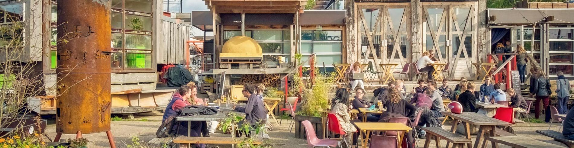 Eco-activism at Café de Ceuvel