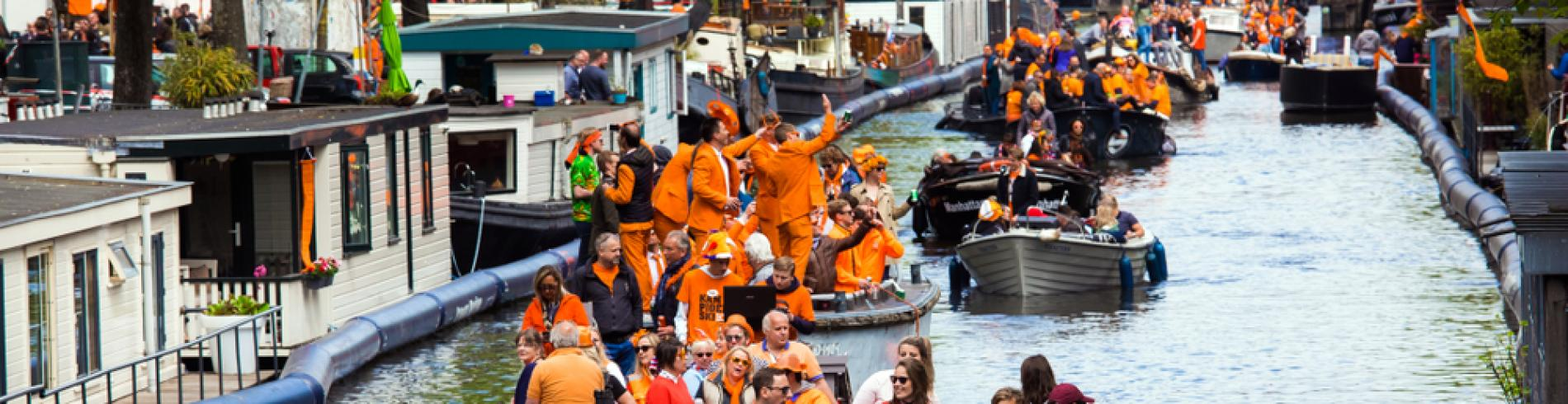 King's day in Netherlands