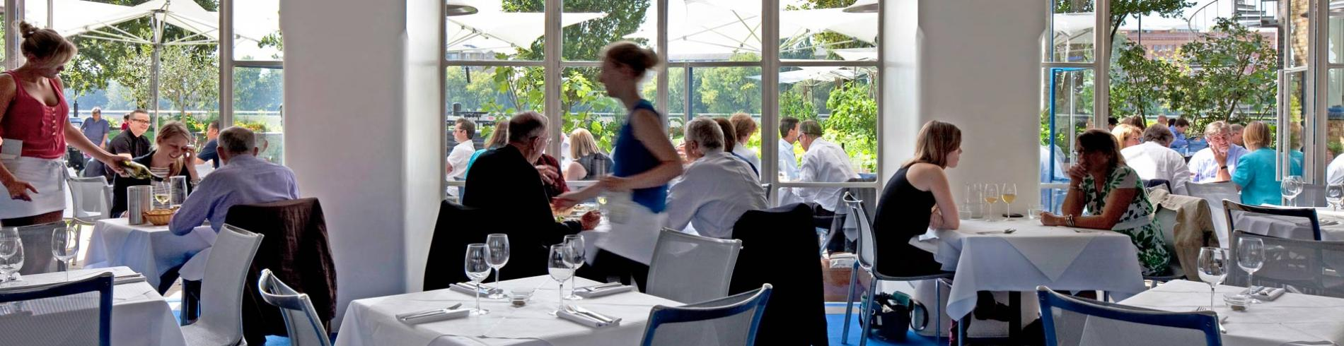 Flawless Italian feasting by the Thames, at the River Café