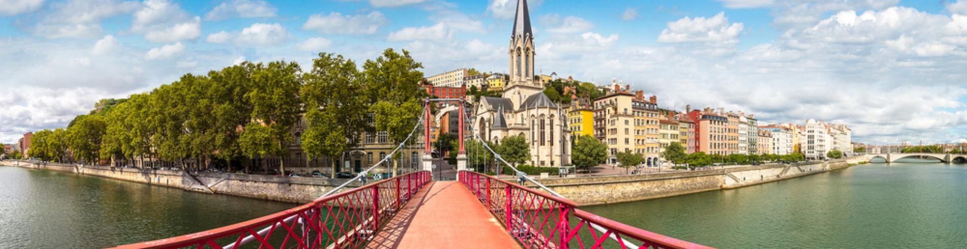 Saint Georges footbridge, Lyon