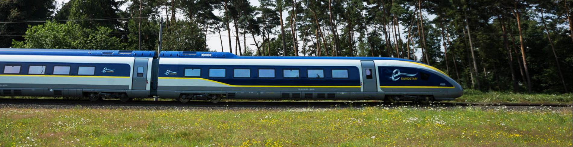 Brexit - image of train