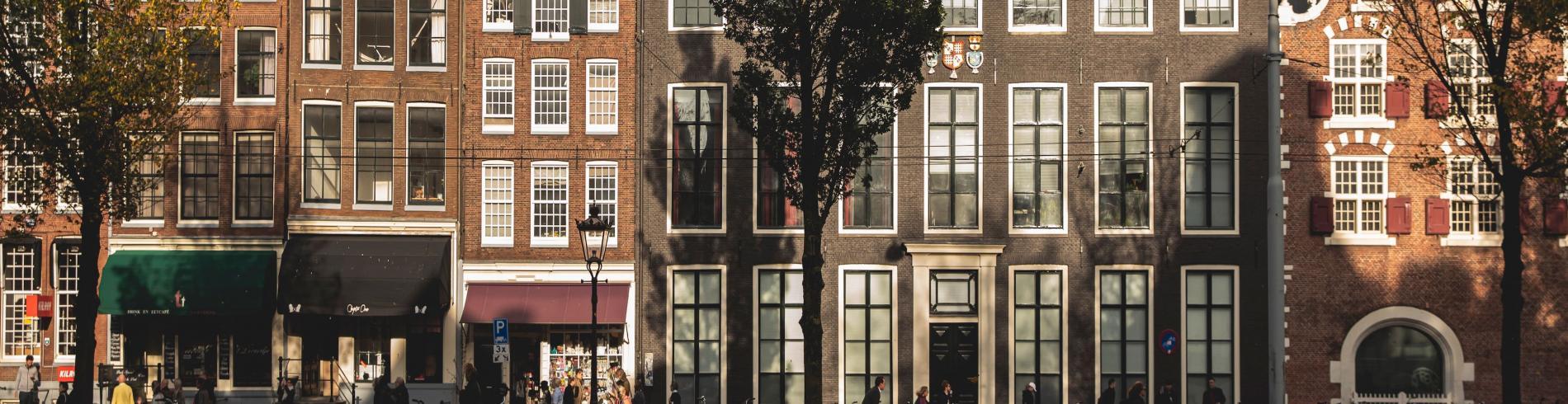 First light in Amsterdam
