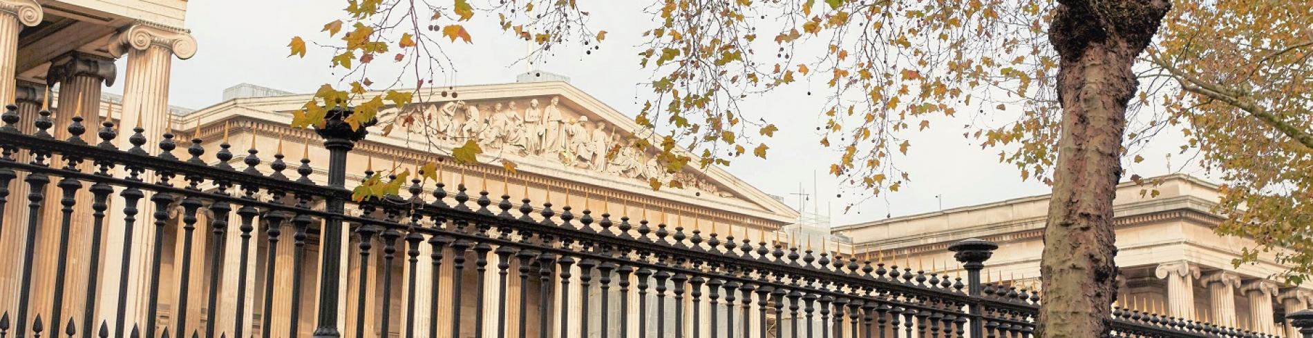 The imposing British Museum