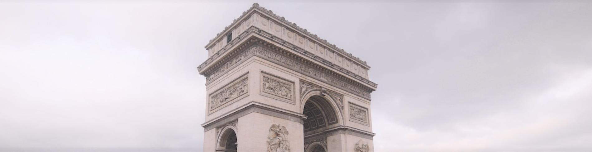 The Arc de Triomphe is a must-see in Paris