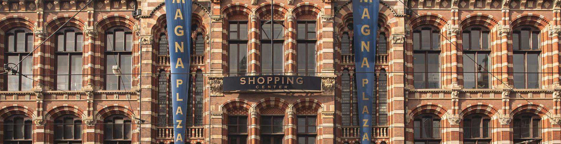 The Magna Plaza shopping centre in Amsterdam