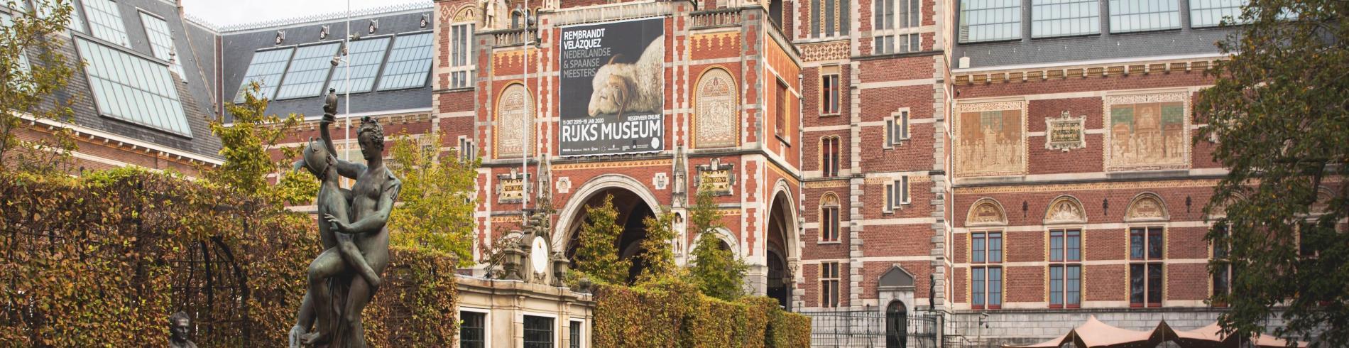 The Rijksmuseum on Museumplein