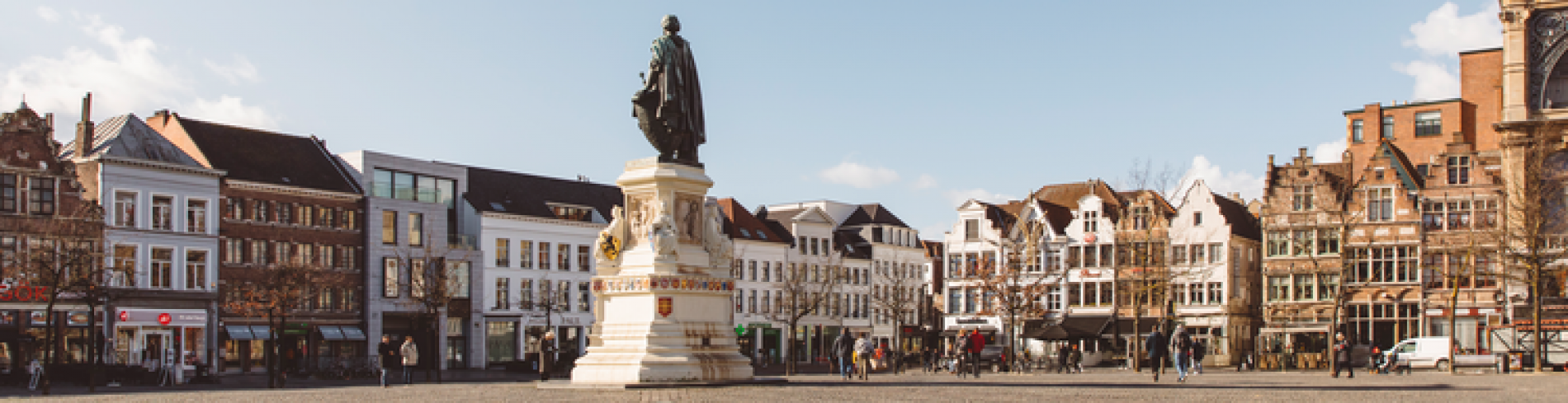 Explore the historical centre of Ghent
