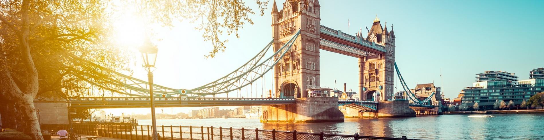 Tower Bridge on a summer's evening