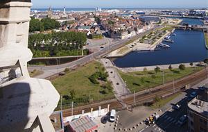 Calais bird's eye view