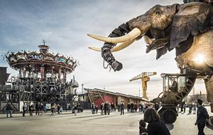 Nantes mechanical elephant