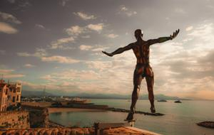 Antibes Statue Bay