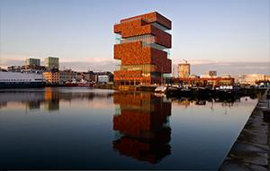Antwerp MAS museum exterior
