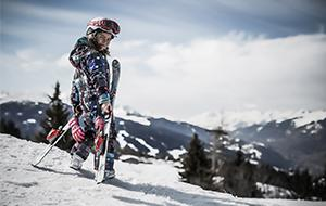 Bourg St Maurice - Les Arcs young skier