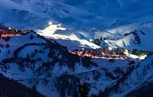 The Alps Night View