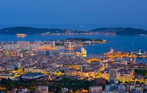 Toulon Nightview