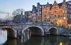 Amsterdam canal - Eurostar city breaks