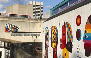 London Southbank Mural