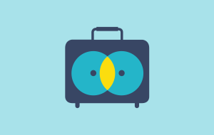 Luggage services icon