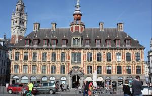 View of the Vieille Bourse from the Grand Place