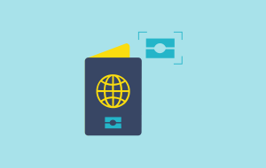 Travel documentation icon