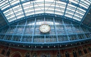 The Ornamental Clock at St Pancras