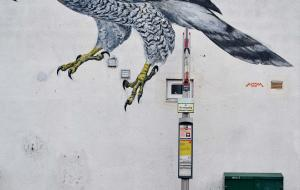 Street art at Sclater Street
